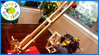 WRECKING BALL and LEGO Helicopter Emergency! Fun Learning Toys for Kids!