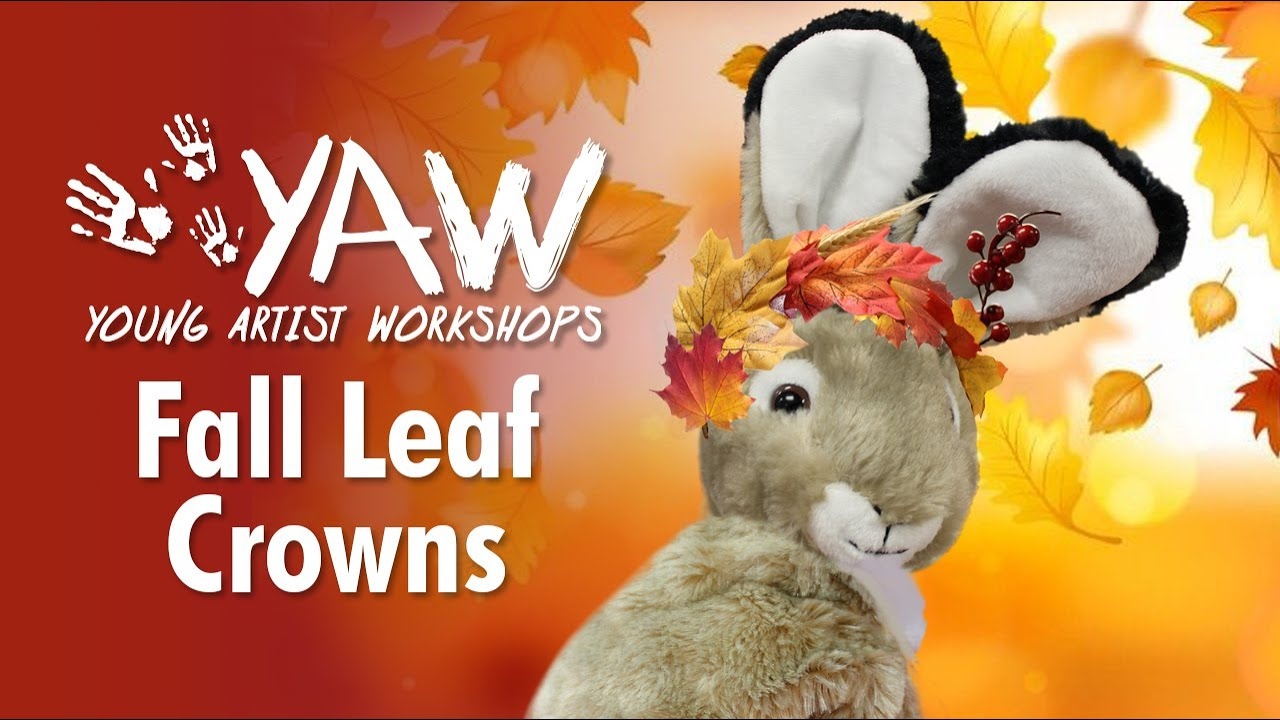 Young Artist Workshop: Fall Leaf Crown