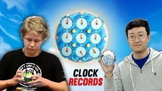 Top 10 Rubik's Clock Speed Clockers 2016
