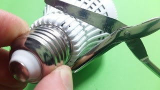 Convert Old LED Bulb into Flashlight