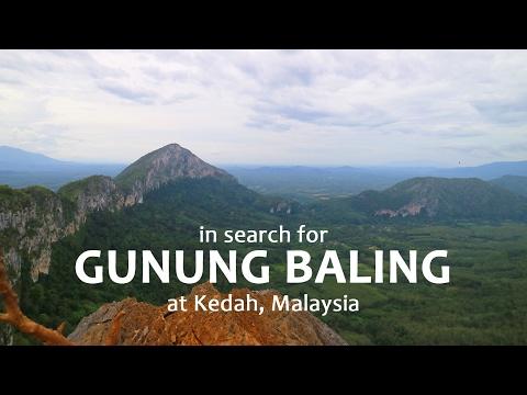 Gunung Baling Hiking