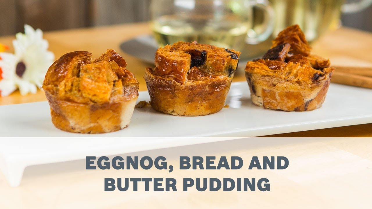 Eggnog bread and butter pudding recipe cooking with bosch youtube eggnog bread and butter pudding recipe cooking with bosch forumfinder Gallery