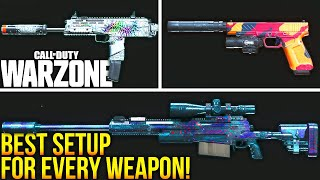 Call Of Duty WARZONE: The BEST SETUP For EVERY WEAPON! (WARZONE Best Loadouts)