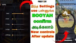 Free fire best settings for autoheadshot tricks tamil