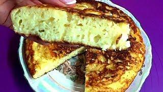 Самый быстрый творожно-яблочный пирог на сковороде Пеку  5 дней подряд и просят еще