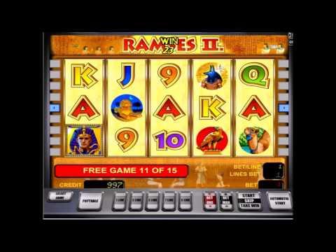 Клуб Вулкан представляет - новый игровой автомат Ramses II