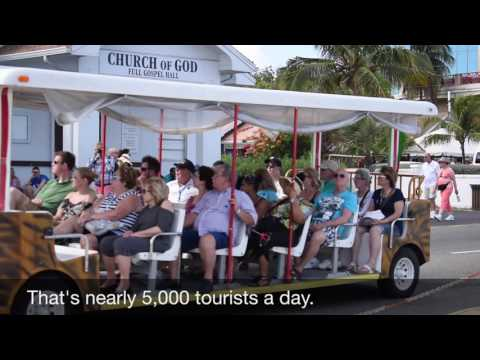 Watch as the Cayman Islands welcomes 20,000+ cruisers in one day