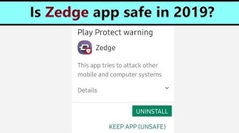 Zedge is harmful or safe app in 2019? My review