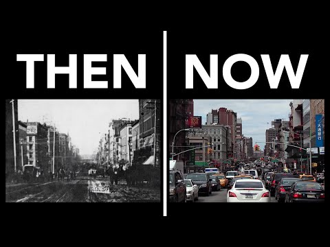 New York Now and Then: 1873 vs 2014