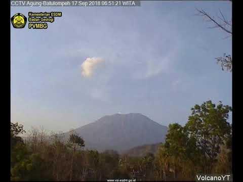 17/9/2018 - Mt Agung (Batu Lompeh) TimeLapse