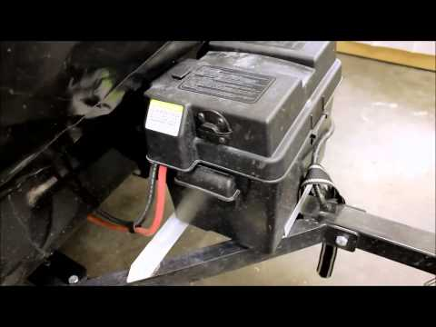 Battery Quick Disconnect Instructional