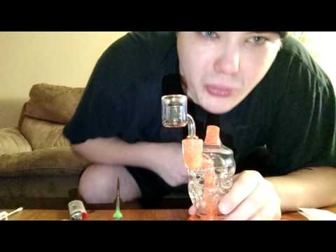 Dab out of a broken rig