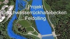 Hochwasserrückhaltebecken Feldolling