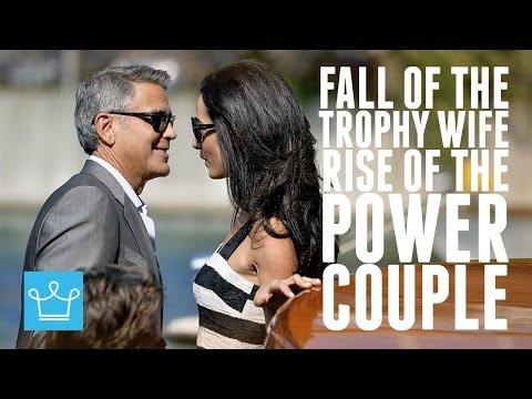 The Fall Of The 'Trophy Wife' And Rise Of The 'Power Couple'