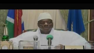 Incumbent President Yahya Jammeh Rejects Election Results a Week After Conceding