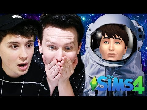 DIL GOES TO SPACE - Dan and Phil Play: Sims 4 #56
