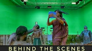 Behind The Scenes of Bahubali 2 The Conclusion / vfx before and after