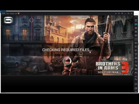 How To Play Brothers In Arms 3 On Nox App Player 3.8 - Android Emulator For PC / Laptop