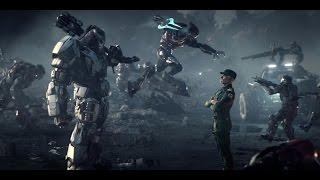 """Столкновение с самой страшной угрозой для человечества. Фантастический игровой фильм  """"Halo Wars 2"""""""