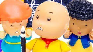 ★NEW★ Caillou and the Music Lesson 🎶 Funny Animated Kids show | WATCH ONLINE | Caillou Stop Motion