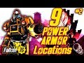 ALL Power Armor Locations In Fallout 76 PART 2 (EXCAVATOR POWER ARMOR)