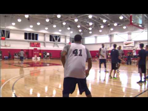 Derrick rose instructional perfecting the floater