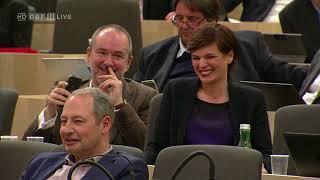 David Lasar FPÖ Rede gegen SPÖ (Anti-Rauchverbotsdebatte)   Nationalrat 28.02.2018