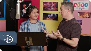 Getting to Know Coco Star Anthony Gonzalez Disney Vacation