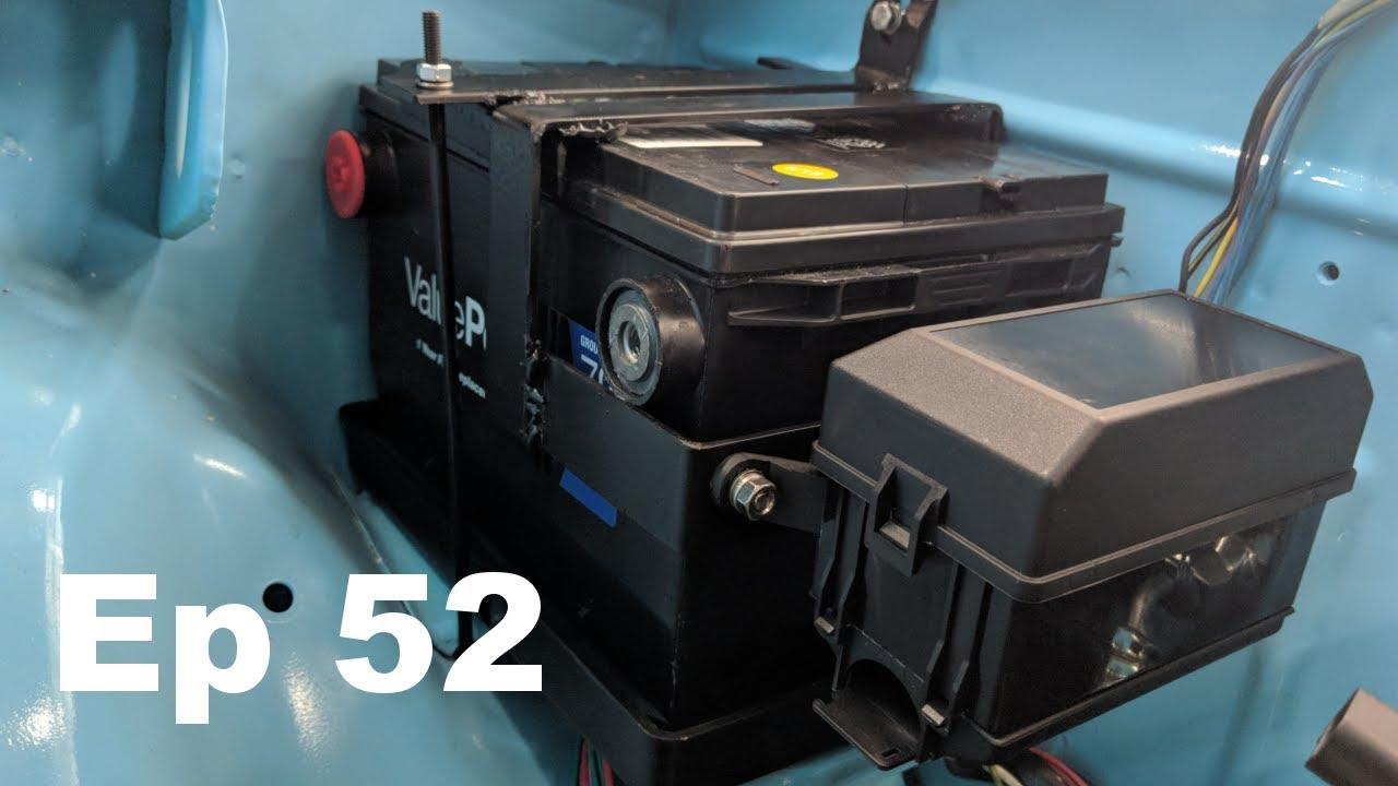 Custom Battery Relay Fuse Box Mount