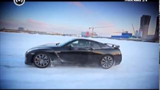 """Москва рулит"": Суперкар Nissan GT-R"
