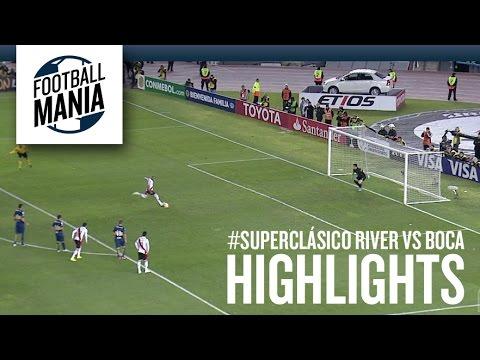 River Plate 1x0 Boca Juniors - Highlights - Copa Libertadores 2015