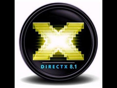 Драйвер скачать directx 8. 1.