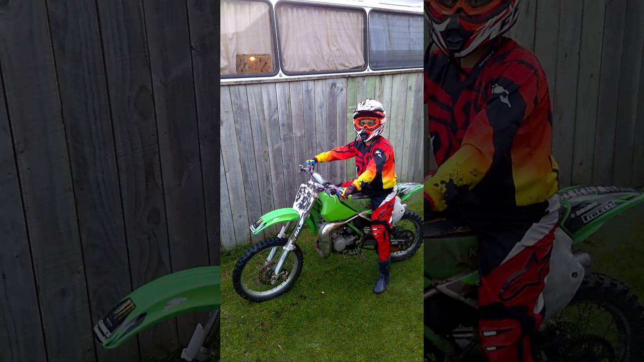 hight resolution of first start up of my kx80