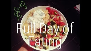 Full day of eating - Food Diary vegan high carb low fat