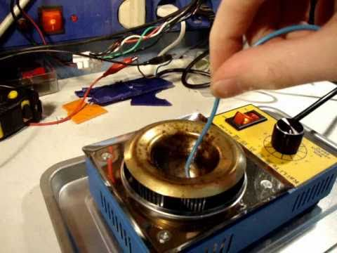 100w temperature controlled soldering pot review for Solde pot exterieur