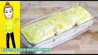 Baixar Receita de lasanha de fiambre e queijo com pão de forma ( canal chantilly com chocolate )