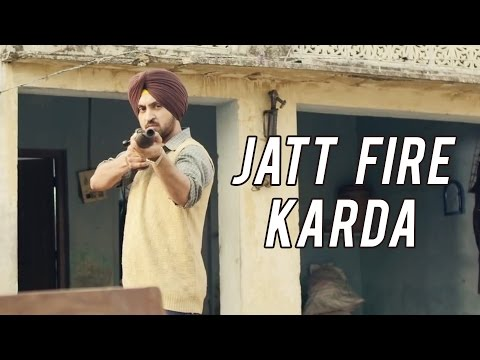Jatt Fire Karda (Official Video) - Diljit Dosanjh || Latest Punjabi Songs 2016 || Panj-aab Records