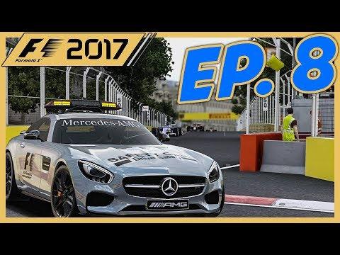 The 5 Safety Car Race |Race 8/20| F1 2017 Sauber Career Mode Episode 8