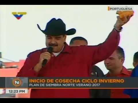 Presidente Nicolás Maduro inicia ciclo de invierno, 27 septiembre 2017