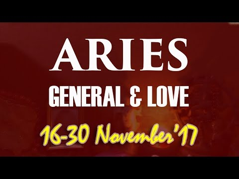 ARIES 16-30 NOV'17 General & Love Tarot - Clear Your Mind | Rise Up !
