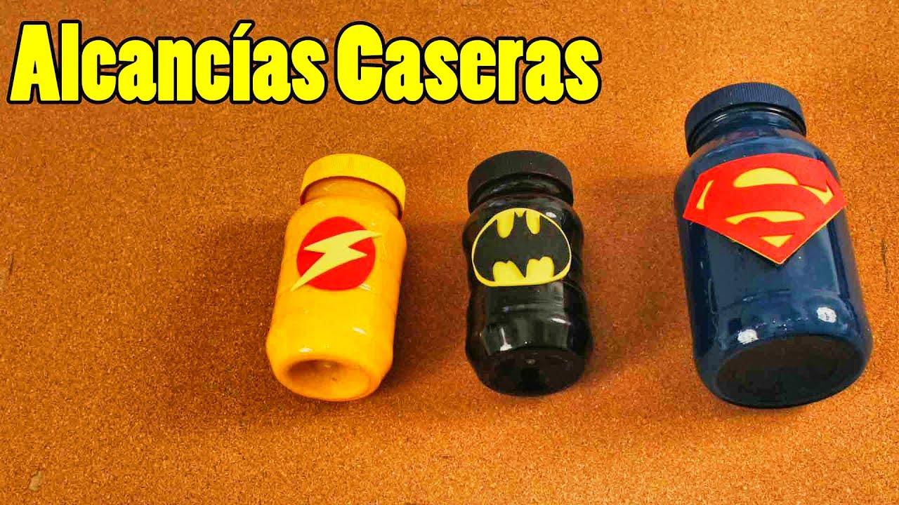 Cómo Hacer Alcancias De Superheroes Para Niños Manualidades Fácil Y Sencillo