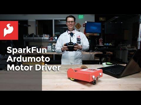 SparkFun Ardumoto Motor Driver Shield Kit