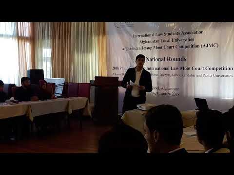 2018 Jessup Afghanistan National Rounds Orientation