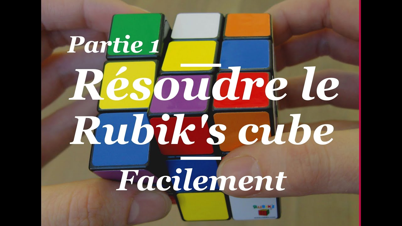 comment faire le rubik 39 s cube partie 1 pr sentation et premi re courrone youtube. Black Bedroom Furniture Sets. Home Design Ideas