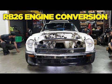 240Z - RB26 Engine Conversion [PART 1]