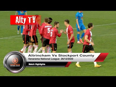 Altrincham Stockport Goals And Highlights