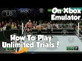 How To Play Unlimited Trials Of Any Game In Xbox Emulator On Any Android Device!