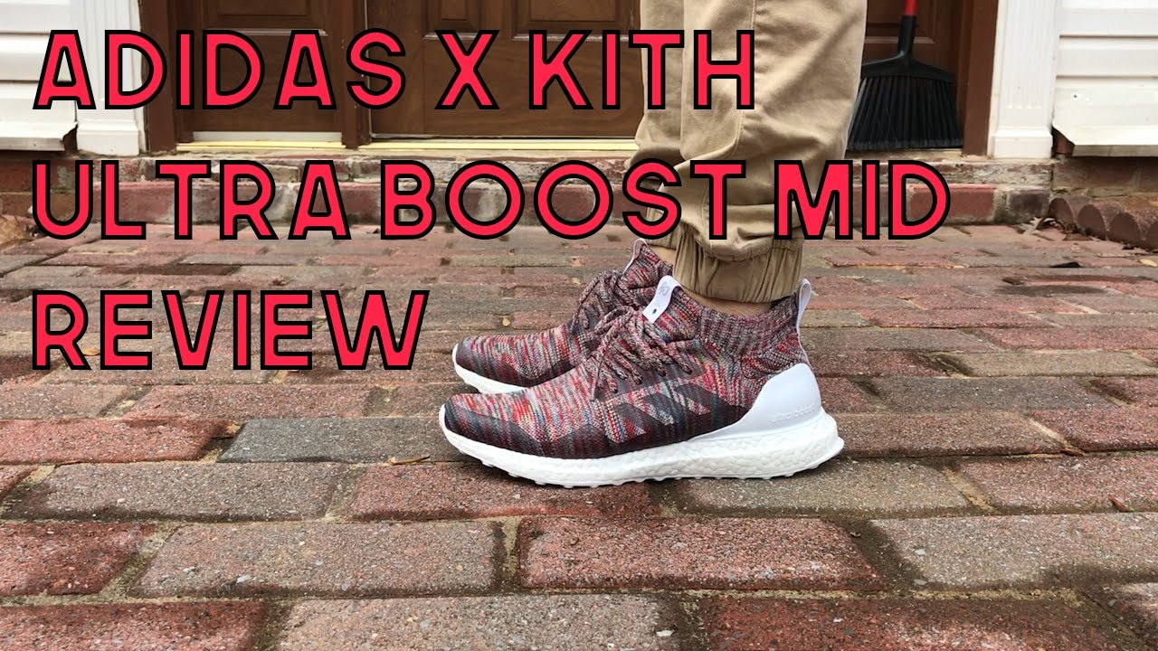 60809ff593b ADIDAS X KITH ULTRA BOOST MID REVIEW - YouTube