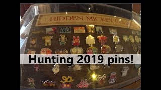 On the Hunt for 2019 hidden mickey pins at Disney Springs
