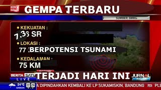Download Video TERBARU!!! Gempa Bumi Hari Ini Berpotensi Tsunami | Sumber BMKG MP3 3GP MP4